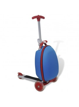 Πατίνι Παιδικό με Βαλίτσα Ταξιδίου Μπλε  90664