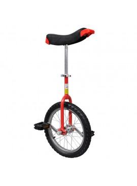 Μονόκυκλο Ποδήλατο Ρυθμιζόμενο Κόκκινο 16 Ιντσών  90842