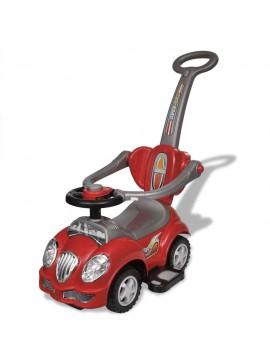 Αυτοκίνητο Περπατούρα Παιδικό με Λαβή Γονέα Κόκκινο   10072