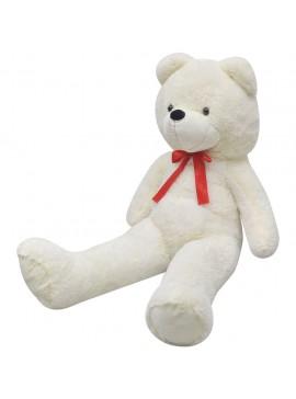 Αρκούδος Λούτρινος XXL Μαλακός Λευκός 150 εκ.   80099