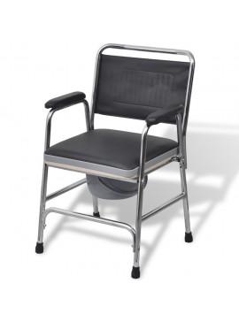 Κάθισμα Τουαλέτας Μαύρο Ατσάλινο  110131