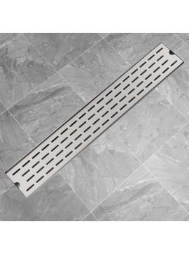 Σιφόνι Ντουζιέρας Γραμμικό με Γραμμές 730x140 χιλ. Ανοξ. Ατσάλι  142179