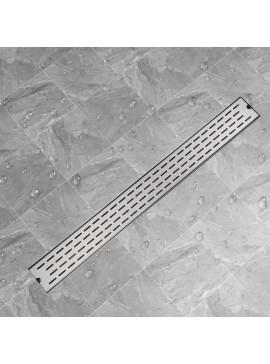 Σιφόνι Ντουζιέρας Γραμμικό με Γραμμές 1030x140 χιλ Ανοξ. Ατσάλι  142182