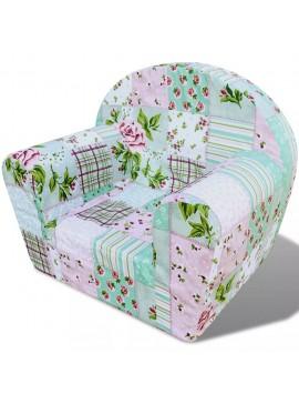 Πολυθρόνα Παιδική με Σχέδιο Λουλούδια  243251