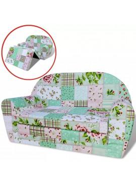Πολυθρόνα-Κρεβάτι Παιδική Σχέδιο Λουλούδια  243255