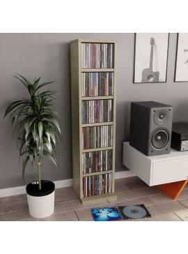 Έπιπλο για CD Χρώμα Sonoma Δρυς 21x16x88 εκ. από Μοριοσανίδα  800354