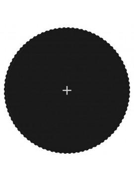 Σεντόνι Αναπήδησης Μαύρο για Στρογγυλό Τραμπολίνο 4,57 μ.  92407
