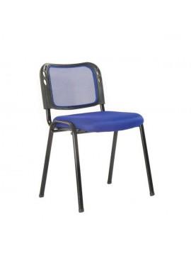 Καρέκλα Γραφείου (επισκέπτη) Μπλε C-0065VCBLUE