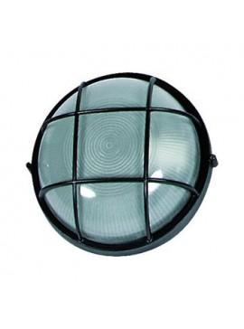 Φωτιστικό τοίχου και οροφής εξωτερικού χώρου, Μαύρο, 1 λάμπα τύπου E27, 24*24*10, 1102L