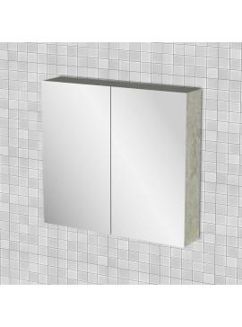 Κρεμαστός Καθρέπτης Μπάνιου Arlene με 2 ντουλάπια 71*14*65 FIL-000765MIRROR