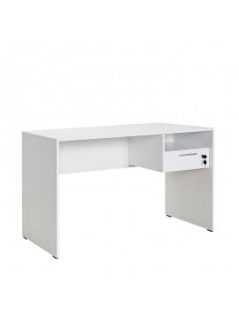 Γραφείο Concept Megapap σε χρώμα λευκό 120x60x75εκ. GP009-0010