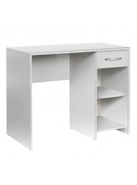 Γραφείο Concept Pc Megapap σε χρώμα λευκό 90x52x75εκ. GP009-0044