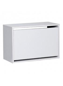 Παπουτσοθήκη Step Megapap 6 ζευγών σε χρώμα λευκό 60x30x42εκ. GP009-0126