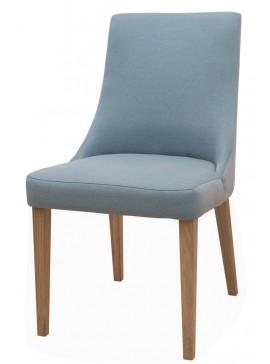 Καρέκλα Korina-Μελί - Μπλε  Kωδ 16794349 Μήκος 50.00 Βάθος 54.00 Ύψος 91.00