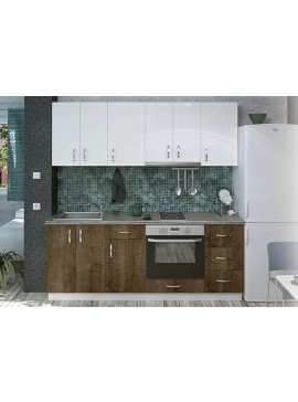 Σύνθεση Κουζίνας 4.00μ., Luxury 200, Genomax  12814-33286