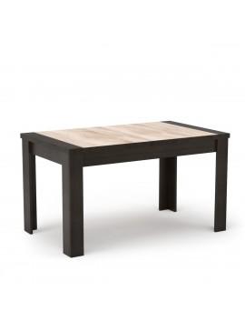 TZAKI Τραπέζι, 135x80 χρώμα Wenge-Sonoma. MIZ-3