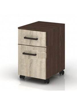 Συρταριέρα γραφείου, Modul 18, 35/45/58.5 εκ., Genomax  12814-32667