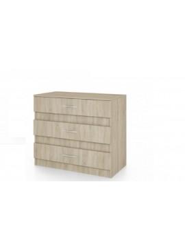 Συρταριέρα, Χρώμα sonoma 43,5x76x80, Genomax  12814-32449122