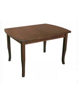 Τραπέζι κουζίνας Χρωμα  ΚΑΡΥΔΙ ξύλινο με μηχανισμο επιμήκυνσης 120+30/75/80 εκ. ELVIRA, Genomax  12814-308