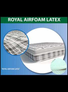 Στρώμα Ύπνου Achaia Strom ROYAL AIR FOAM LATEX 2 σε 1 ( Ορθοπεδικό - Ανατομικό)  090X200   ROYALAIRFOAMLATEX090X200