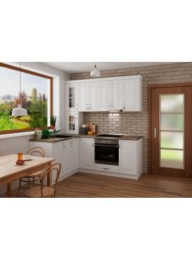 Σύνθεση Κουζίνας 5.40 μ, MDF Vintage 160/240 , Genomax  12814-33711