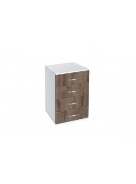 Συρταριέρα με 4 συρτάρια, AVA 500, 50x73x43, Genomax  12814-32599