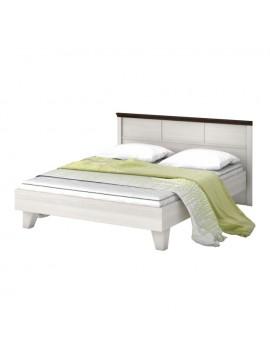 Κρεβάτι Lavenda 160x200 Διπλό, Με MDF Wenge Τελείωμα TO-160BED