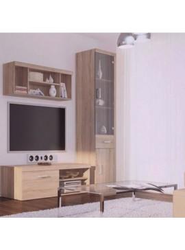 Σύθεση TV 3 τεμ. 184.5x45x203 Χρώμα Sonoma. TO-DAMISSET4