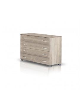 Heri Xylo  Συρταριέρα σειρά ΝΕΤ με 4 συρτάρια 90 cm x 73 x 43.5cm--ΚΩΔ.09-05a
