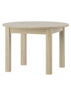 Τραπέζι Turan επεκτεινόμενο-Φυσικό  Μήκος 110.00 Βάθος 110.00 Ύψος 76.00  16635999