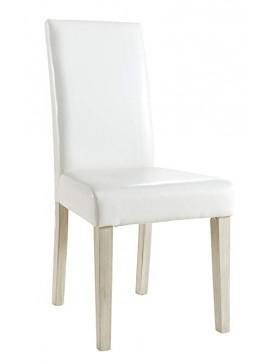 Καρέκλα Vara-Λευκό  Kωδ 16218509 Μήκος 45.00 Βάθος 55.50 Ύψος 94.00