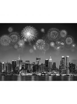 Πίνακας Πυροτεχνήματα Νέας Υόρκης 120x90 εκ . W-8933A