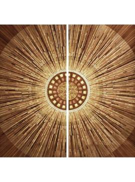 Πίνακας 2 τμχ με τρουκς, Κύκλος, 90x90 εκ . W-9816